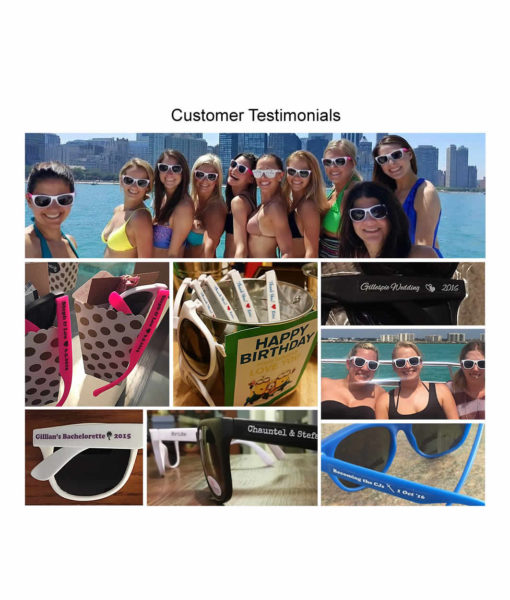 customer testimonial - sunglasses
