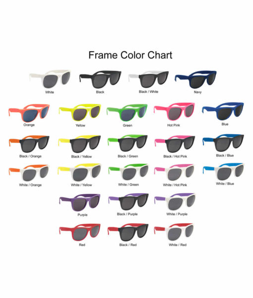 frame color options - sunglasses