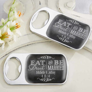 bottle opener favors