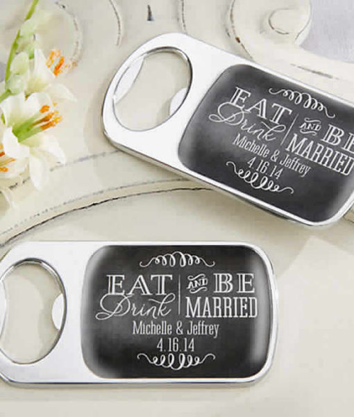 eat drink and be married bottle opener