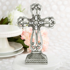 Baptism table centerpieces