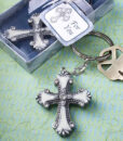 cross keychain favors