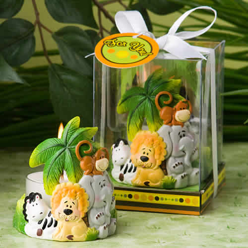 Jungle Critters Candle Favors