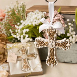 Stunning Vintage Design Cross Ornament