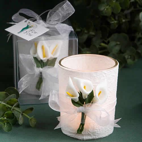 bridal shower candle favors