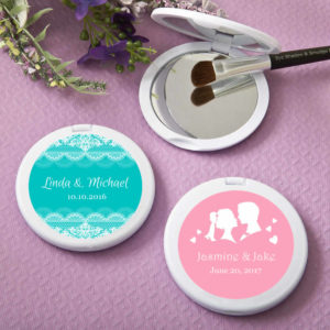 cheap personalized compact mirrors