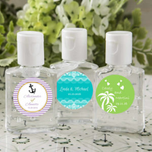 hand sanitizer wedding favors