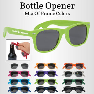 custom bottle opener sunglasses