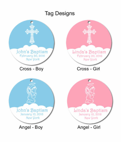 baptism tag designs