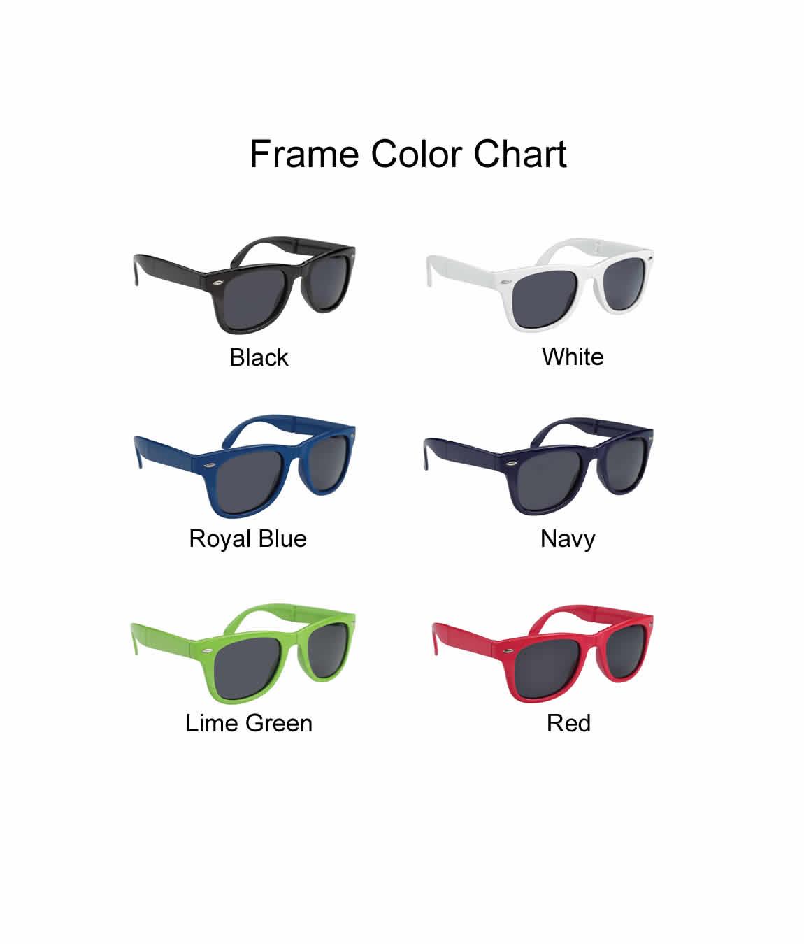Sunglasses For Wedding Favors Folding - FREE Proofs & No Setup Fees