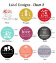 label design chart 2