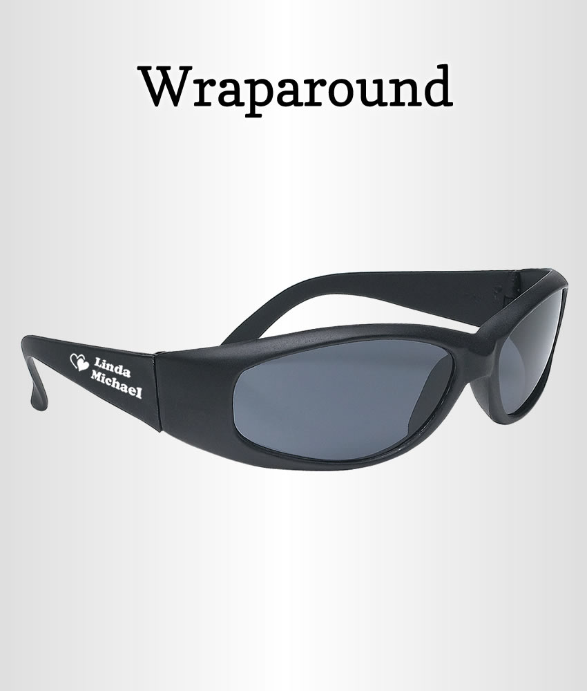 Wedding Favor Glasses Wraparound - FREE Proofs & No Setup Fees