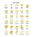 wedding favors icon list