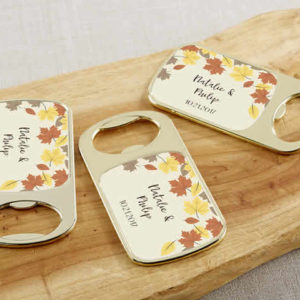 fall wedding party favors