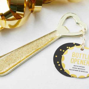 Glittering Heart Bottle Opener