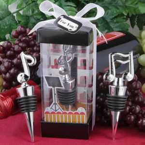 music wine stopper