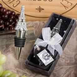 Eiffel Tower Wine Bottle Stopper Favors