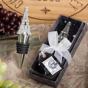 Eiffel Tower Wine Bottle Stopper Favors