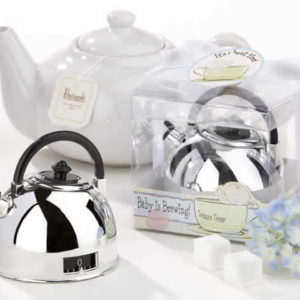 Tea Party Baby Shower Teapot Timer