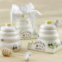 honey jar baby shower favors