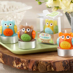 Baby Owl Candles