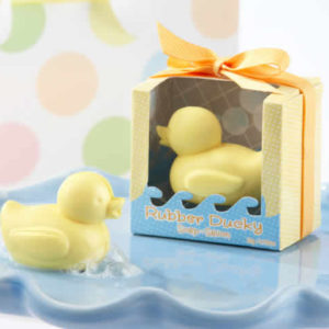 rubber ducky baby shower favors