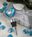 Murano Heart Design Wine Bottle Stoppers
