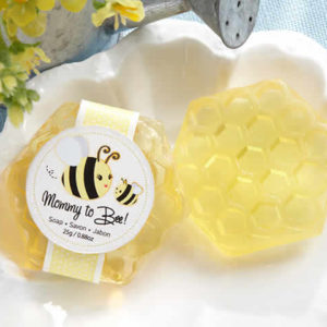 Honey-Scented Honeycomb Soap