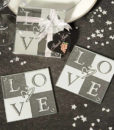 love coasters wedding favors