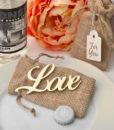love bottle opener gold wedding favor