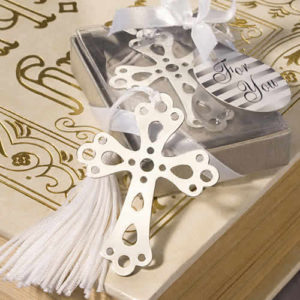 Cross Bookmark Favors