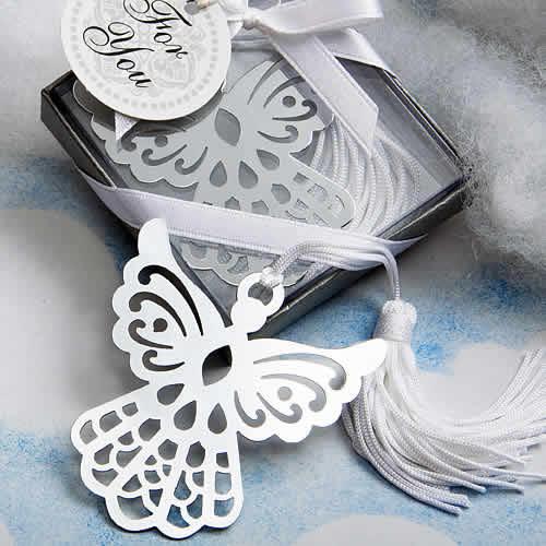 angel bookmark favors