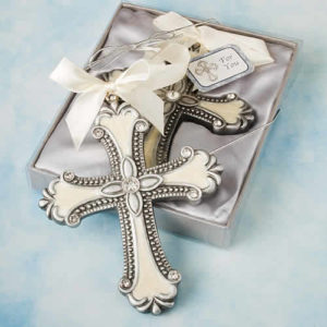 cross ornament favors