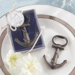 anchor bottle opener wedding favor