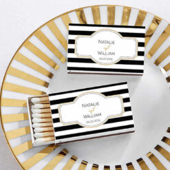 Personalized match boxes