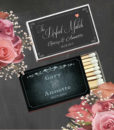 Personalized Wedding Matches Cheap