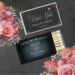 Personalized Wedding Matches Cheap