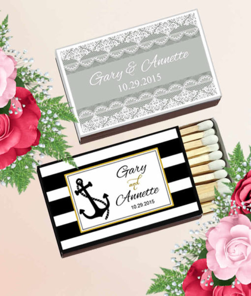 Custom Matches Wedding