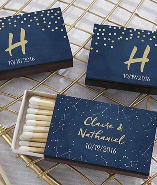 personalized matchbooks