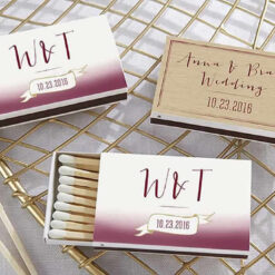 matchbook wedding favors