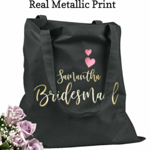 personalized bags for bridesmaids