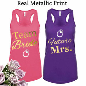 Bridesmaid tank tops cheap