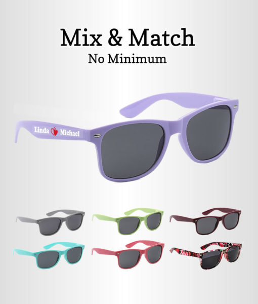 Bridal party sunglasses