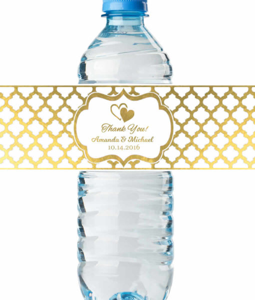 Water Bottle Labels Wedding Shower