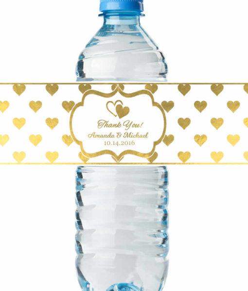 Water Bottle Labels Wedding