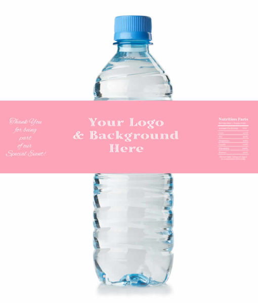 customized water bottle labels wedding1