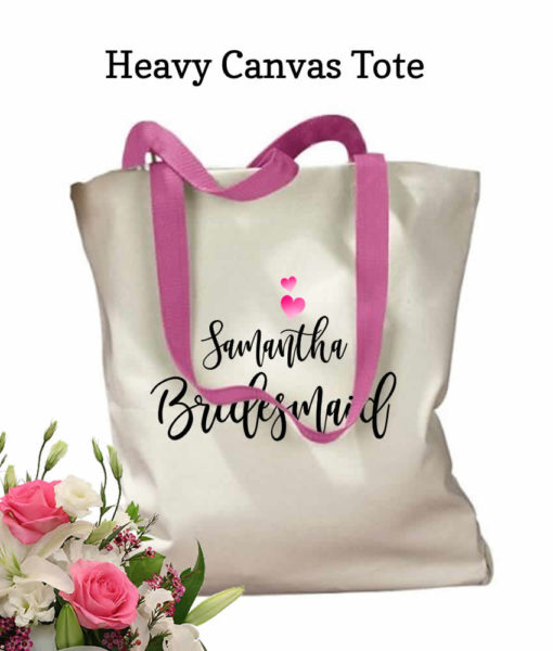 Wedding Totes for Bridesmaids
