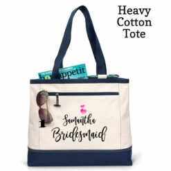 personalized tote bags for wedding