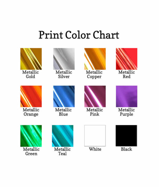 print color options