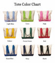 tote color options